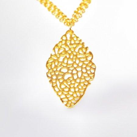 Claris Schmuckdesign Dalia Collier gelbvergoldet 5