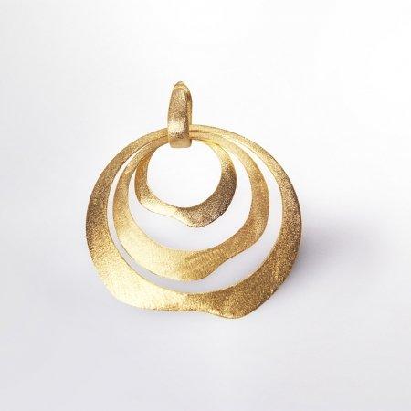 Claris Schmuckdesign Livia Anhänger gelbvergoldet 1