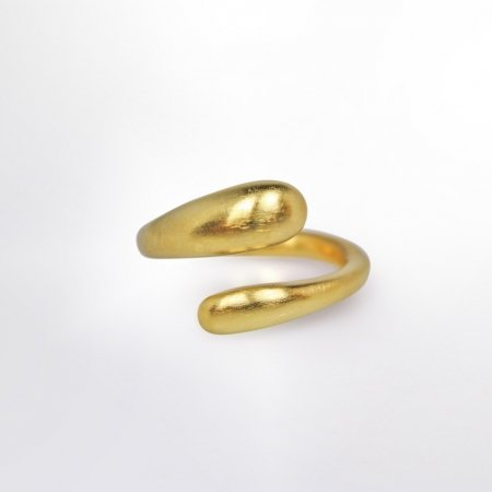 Claris Schmuckdesign Zoe Ring gelbvergoldet 2