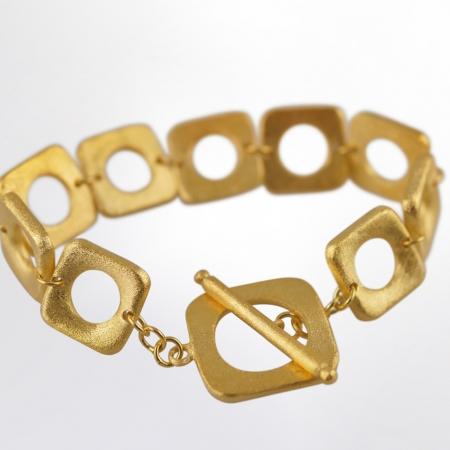 Claris Schmuckdesign Armband gelbvergoldet 4 cut bearb b s 1400pxB