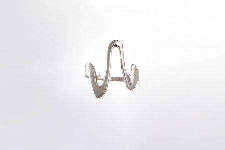 Claris Schmuckdesign Ring the wave rhodiniert 1 s 1400pxB