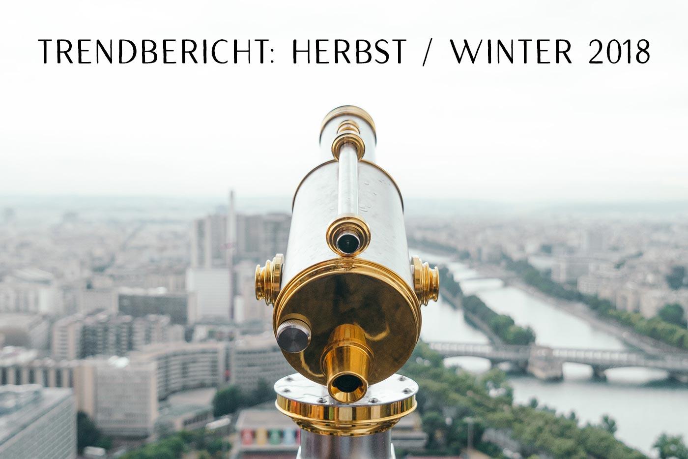 Claris Schmuck Trendbericht Herbst Winter 2018