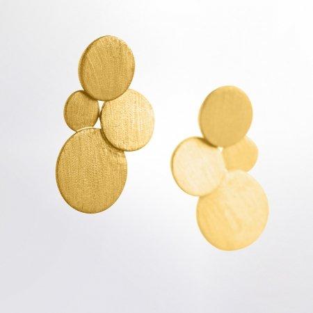Ohrschmuck Ohrstecker Kya-gelbvergoldet