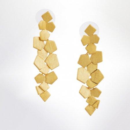 Ohrschmuck pebbles gelbvergoldet