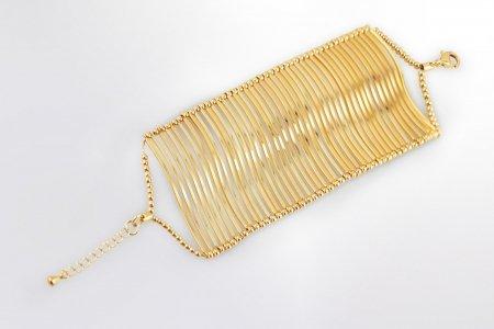 Claris Schmuckdesign Armband Gloria gelbvergoldet