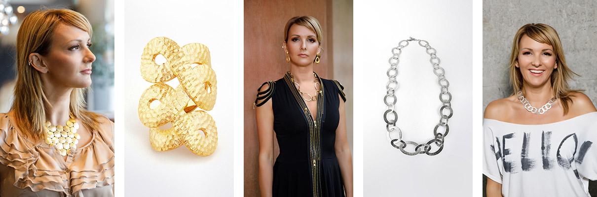 Modeschmuck, Collier, Statement-Kette - Clarissa Jungbluth Jewelry