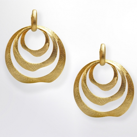 Claris Schmuckdesign Livia Creole gelbvergoldet 03