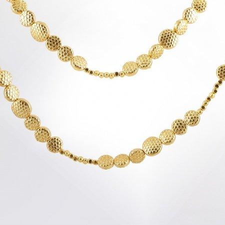 Claris Schmuckdesign Collier Dolce gelbvergoldet