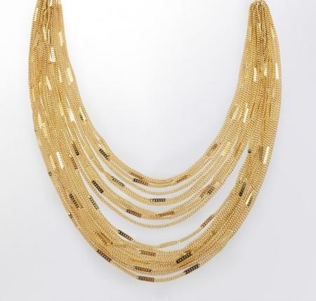 Claris Schmuckdesign Collier Guyana gelbvergoldet -