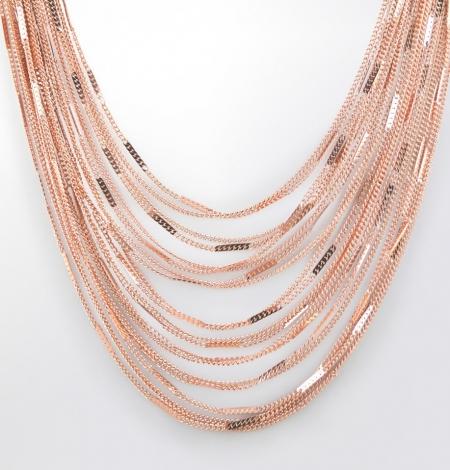 Claris Schmuckdesign Collier Guyana rosevergoldet