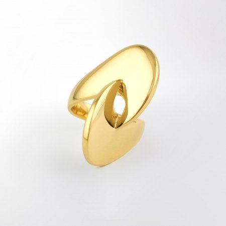Claris Schmuckdesign Ring Charisma gelbvergoldet