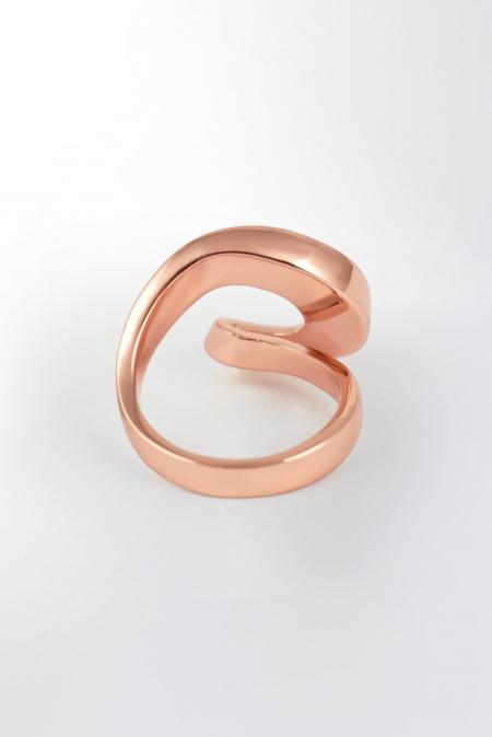 Claris Schmuckdesign Ring Infinity rosévergoldet