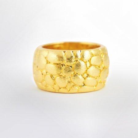Claris Schmuckdesign Ring Morocco gelbvergoldet
