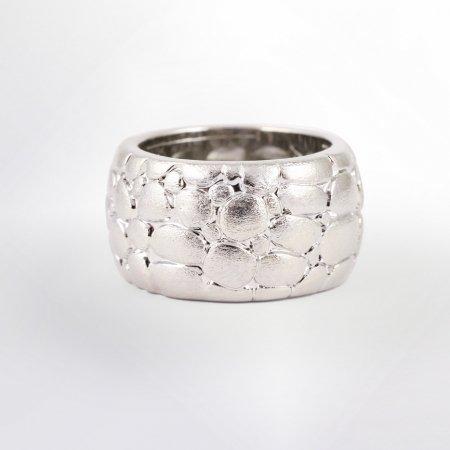 Claris Schmuckdesign Ring Morocco rhodiniert