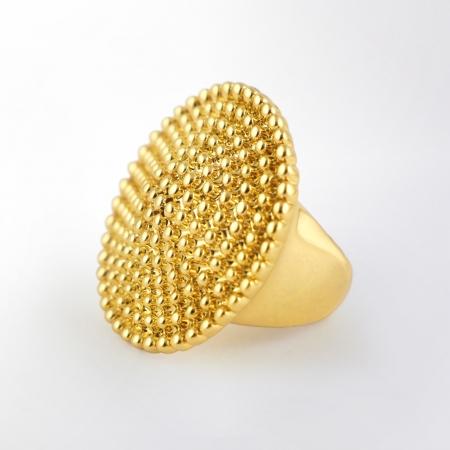 Claris Schmuckdesign Ring Persia gelbvergoldet
