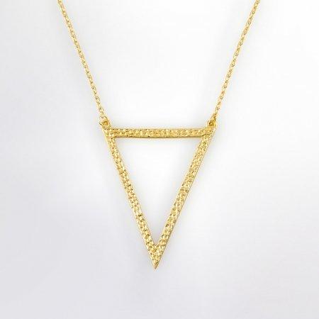 Claris Schmuckdesign Collier Pyramide gelbvergoldet