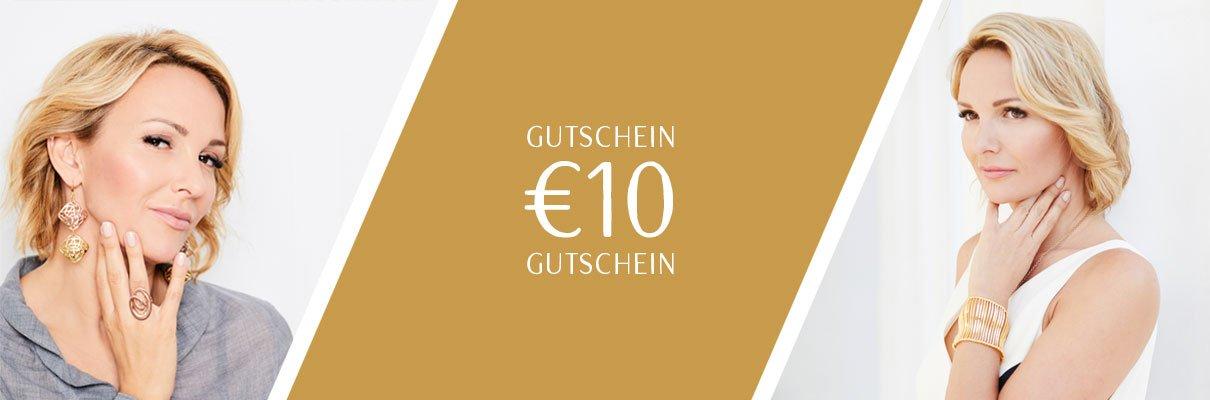 Claris Schmuck Gutschein Newsletter-Anmeldung